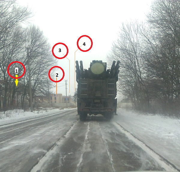 Russian Pantsir-S1( SA-22 Greyhound) SAM presumably in Makiivka
