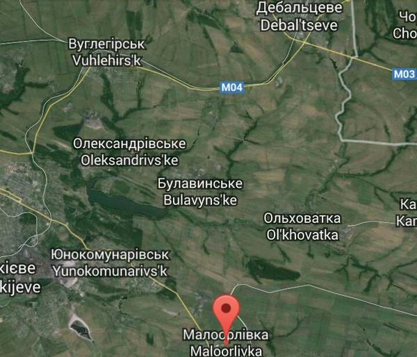 Russian forces attempted to storm Maloorlivka on the southern defensive ring of Debaltseve last night.