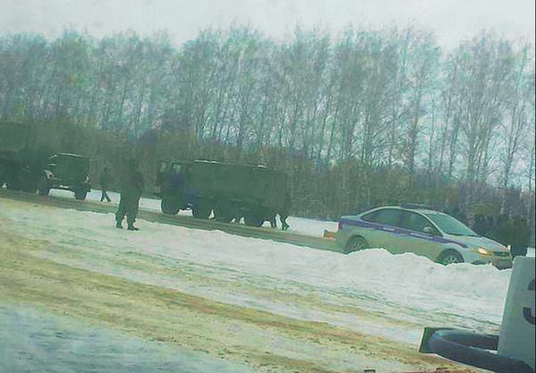 Russian troops: New column in the Rostov region.