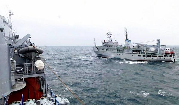 The Ukrainian Navy has conducted large-scale exercises in Black Sea