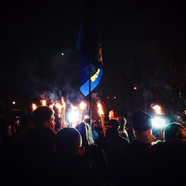 Rally in memory of Kruty heroes in Mykolaiv