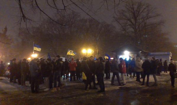 Kharkiv also commemorates heroes of Kruty Battle