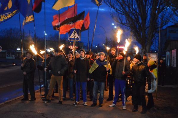 Kruty March in Pervomais'k, Mykolaiv region