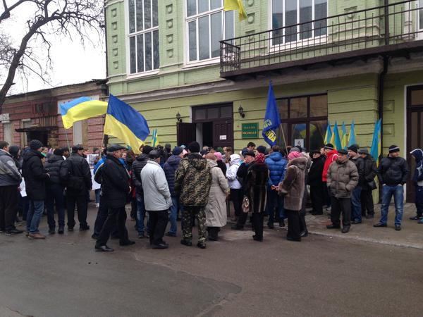 Rally in Mariupol