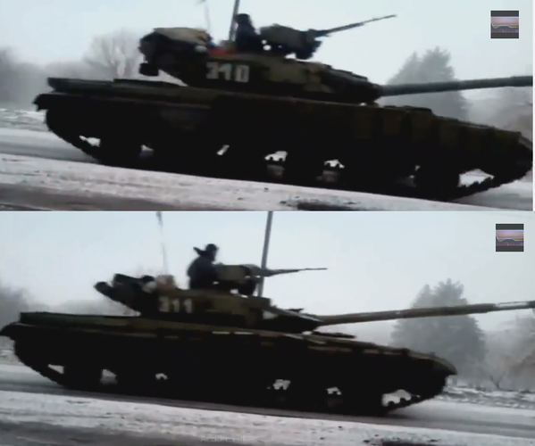 Large Russian army convoy moves on Debaltseve