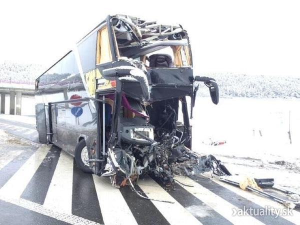 In Slovakia crashed bus with Ukrainians - at least 3 dead