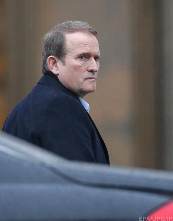 Medvedchuk arrived at Minsk