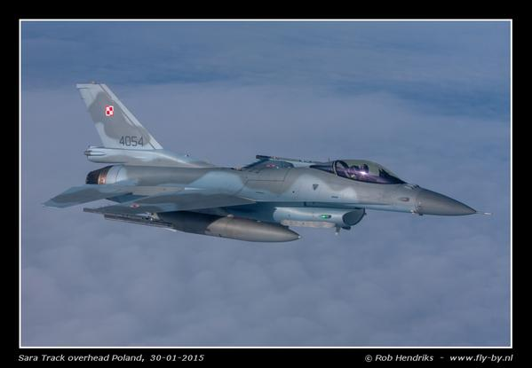 Polish F16 fighter jets getting ready for yesterday mid-air refueling