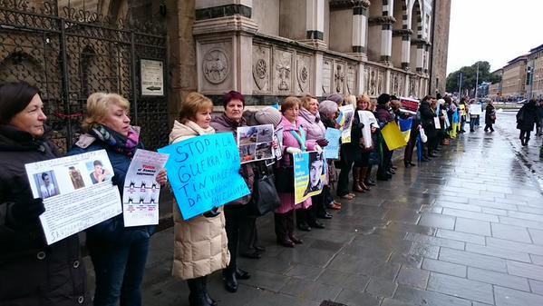 Flashmob in Florence