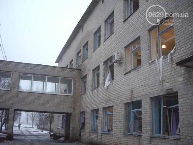 Terorists opened fire district hospital in Donetsk region, - media