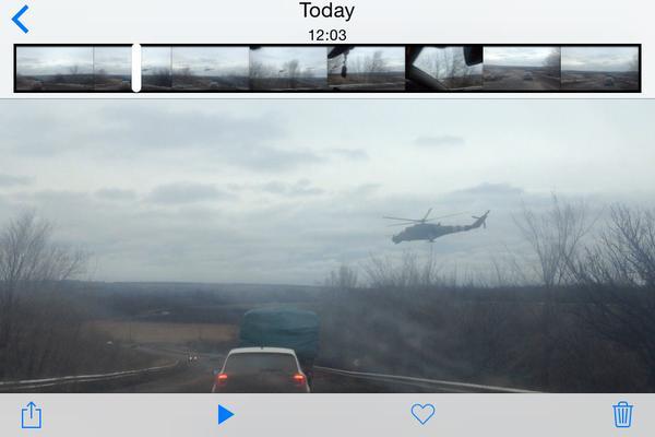 Mi-24 over Artemivsk