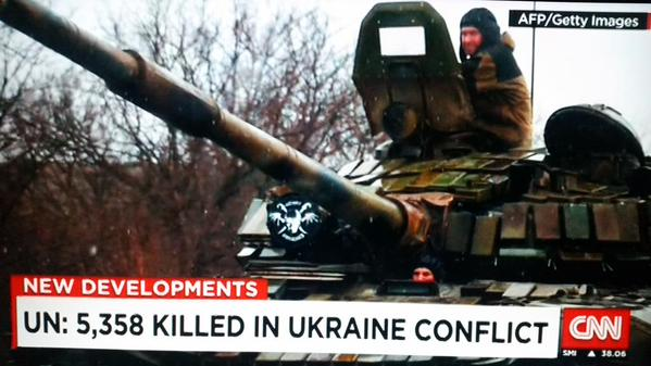 Russian T-72 B picture today on @CNN @cnni