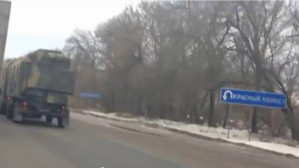 Convoys Of Possible Electronics Warfare Equipment Spotted Moving Near Ukraine's Border