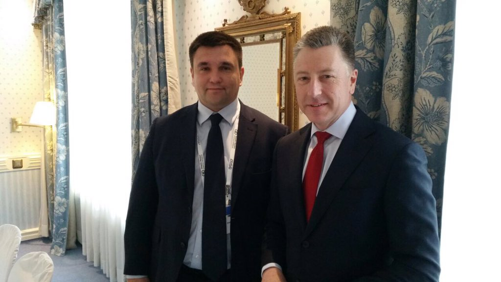 Klimkin discussed with Volker the escalation at the Donbass