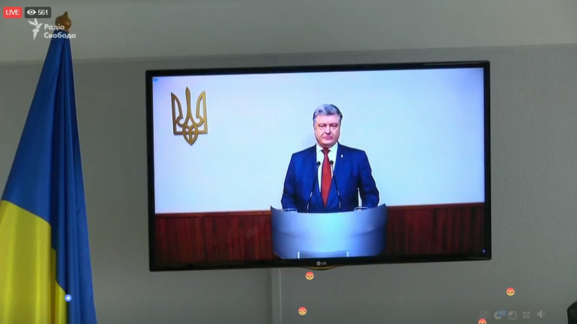 Questioning of Petro Poroshenko at trial of Yanukovych' high treason