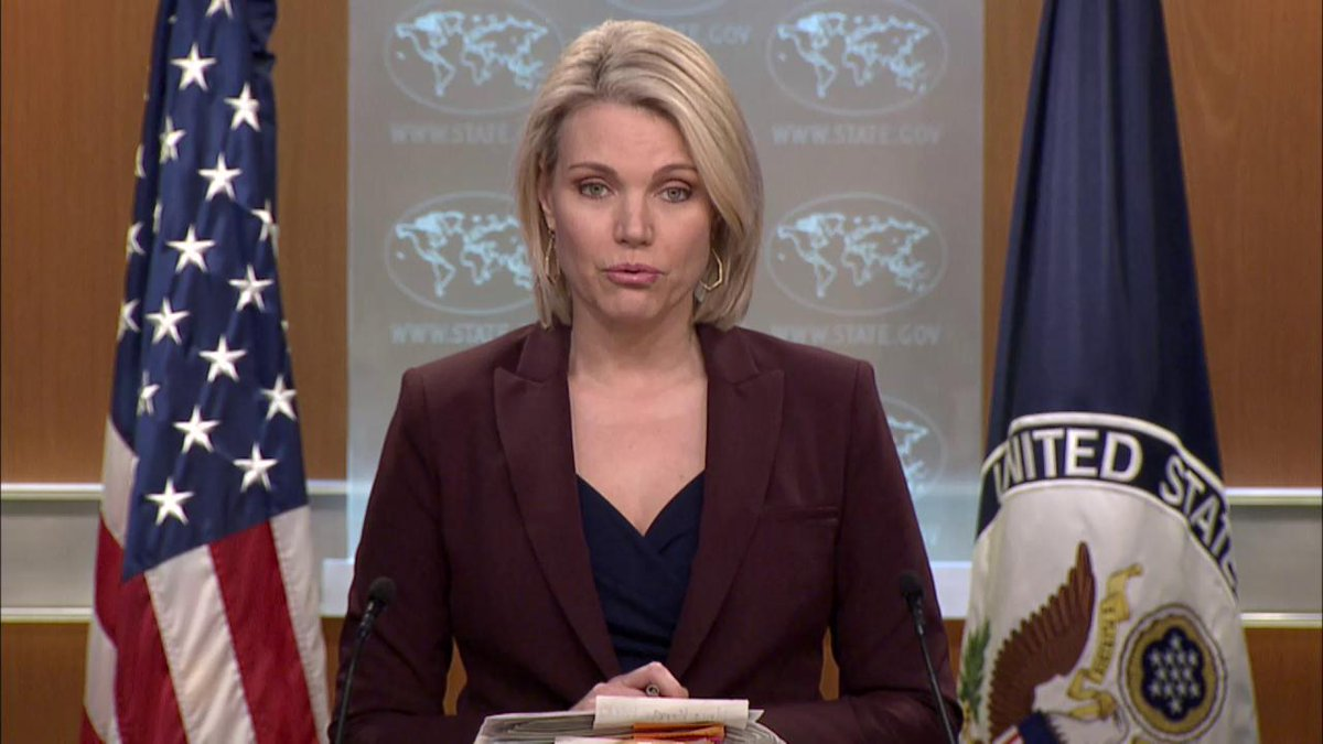 .@statedeptspox: We received reports that a Ukrainian medic was killed while trying to aid civilians near the contact line, reminding us that the conflict in eastern Ukraine continues to rage on. U.S. calls on Russia to order its proxy forces to implement a complete ceasefire.